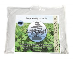 zen chi organic buckwheat pillow