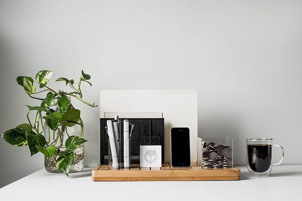 minimal desk space