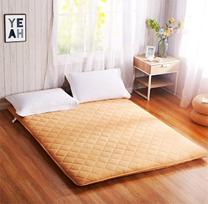 minimal japanese futon