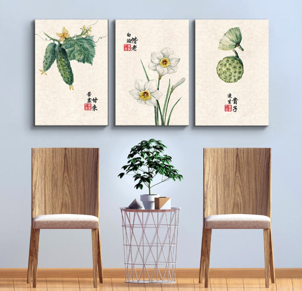 Japanese painting wall art