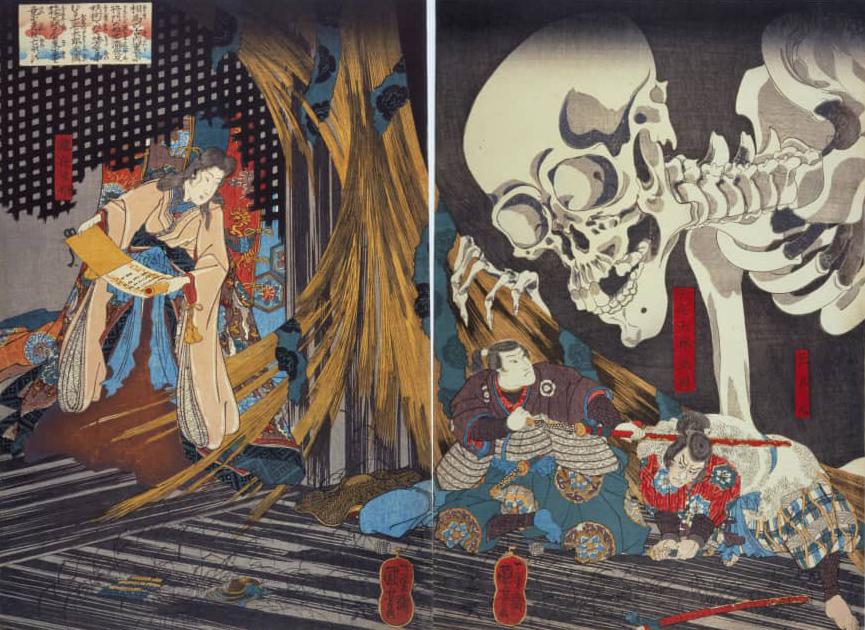 Famous Japanese Painting by Utagawa Kuniyoshi